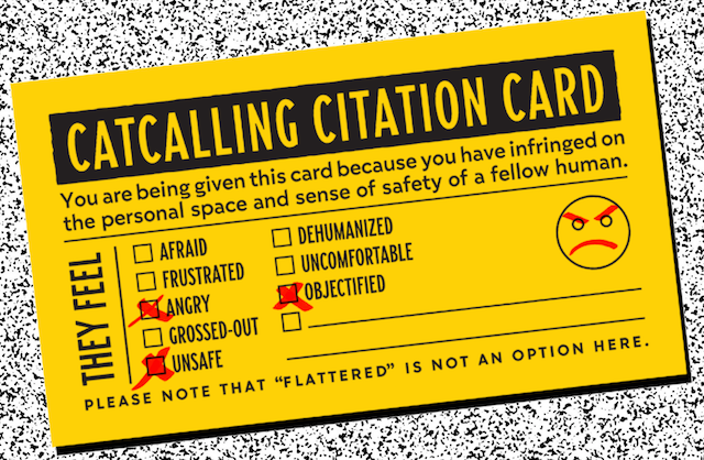 Catcall Citation Cards