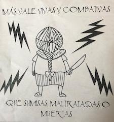 zine cover: Más Vale Vivas y Combativas
