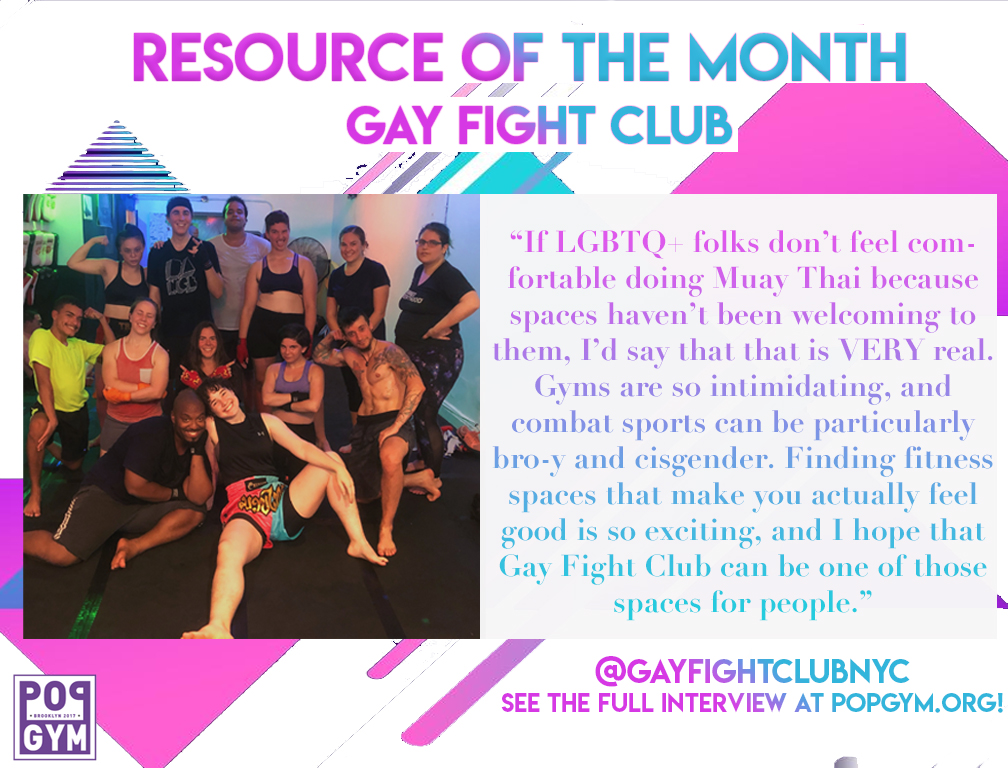 The kewl folks of Gay Fight Club NYC