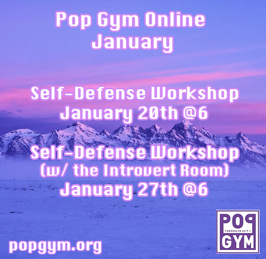 Pop Gym January